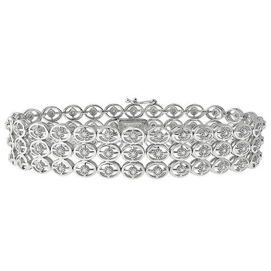 Sterling Silver 7 Inch Link Bracelet