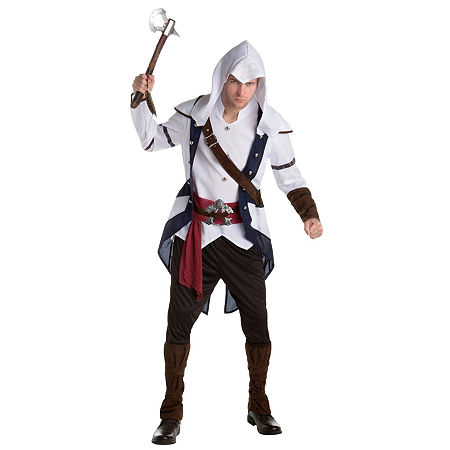 Assassins Creed Mens Costume, Large , Multiple Colors