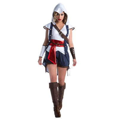 Buyseasons Assassins Creed 5-pc. Dress Up Costume Womens