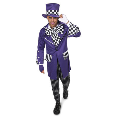 Buyseasons Mad Hatter 7-pc. Dress Up Costume Mens
