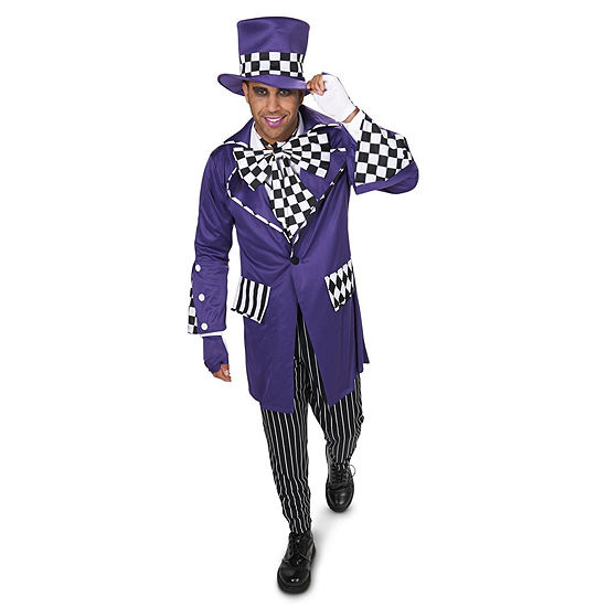 Mad Hatter 7-pc. Dress Up Costume Mens
