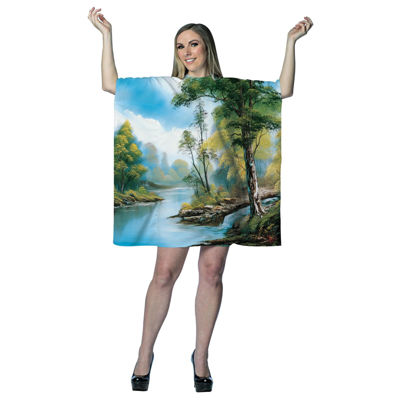 Buyseasons Bob Ross Dress Up Costume Womens