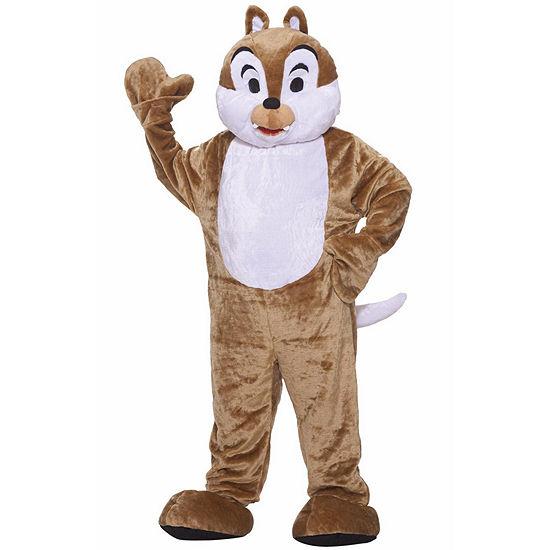 Chipmunk Deluxe Mascot 4-pc. Dress Up Costume Unisex