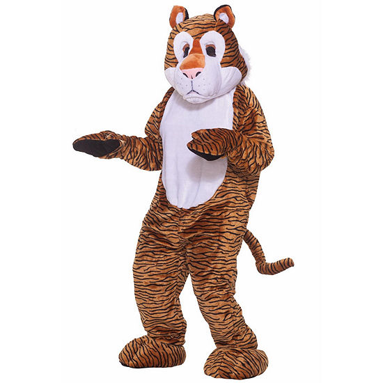 Deluxe Mascot - Tiger 4-pc. Dress Up Costume Unisex