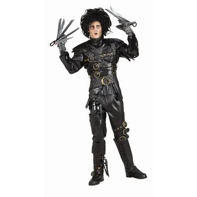 Buyseasons Edward Scissorhands 9-pc. Dress Up Costume Mens