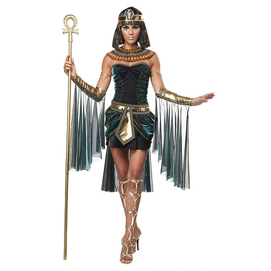 Egyptian Goddess Adult Costume 5-pc. Dress Up Costume Womens