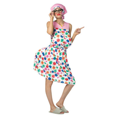 Buyseasons Granny 4-pc. Dress Up Costume Womens