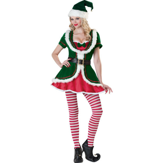 Buyseasons Holiday Honey 8-pc. Dress Up Costume Womens