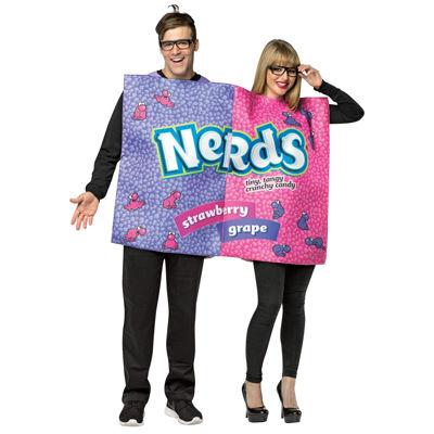 Buyseasons Nerds 4-pc. Dress Up Costume Unisex