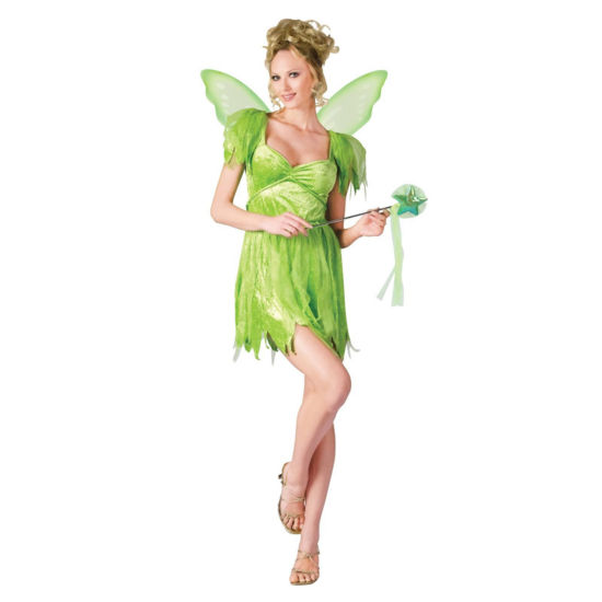 Buyseasons Tinkerbell 3-pc. Dress Up Costume Womens