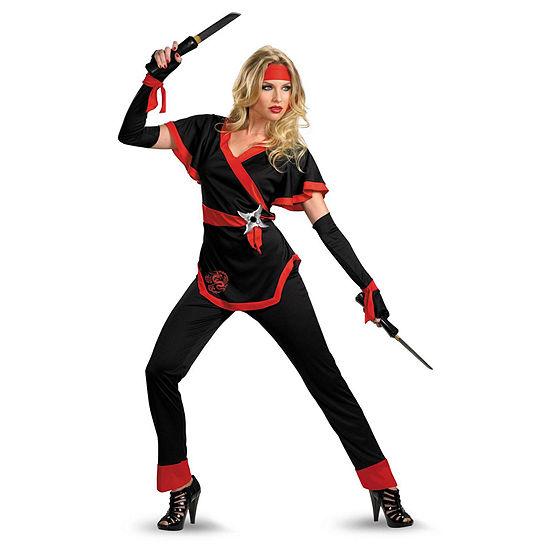 Buyseasons Ninja Dragon Female Adult Costume 6-pc. Dress Up Costume Womens