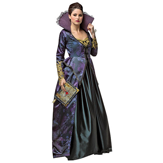 Once Upon A Time Evil Queen Deluxe Womens Costume