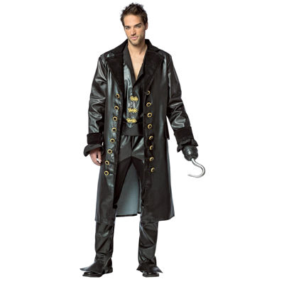 Once Upon A Time Mens Hook Deluxe Costume