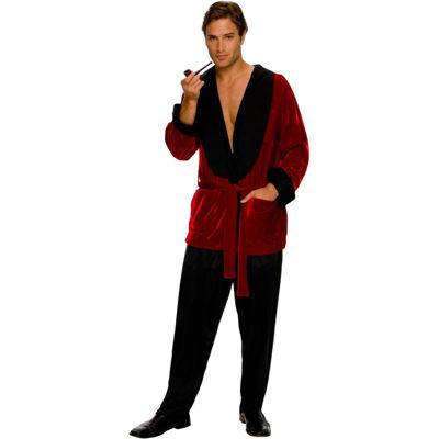 Buyseasons Playboy Smoking Jacket 3-pc. Dress Up Costume Mens