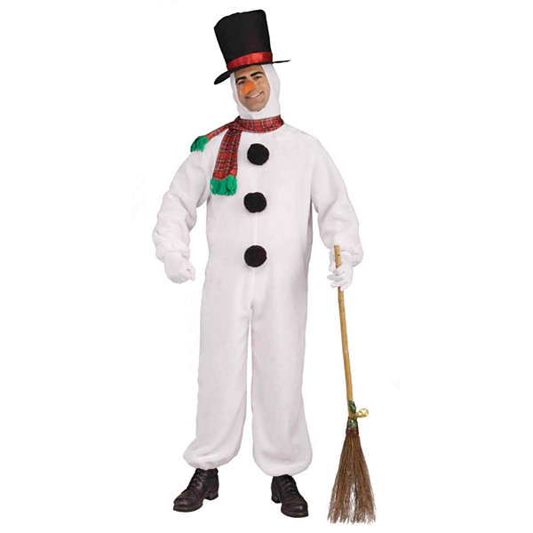 Plush Snowman Adult Costume - Standard