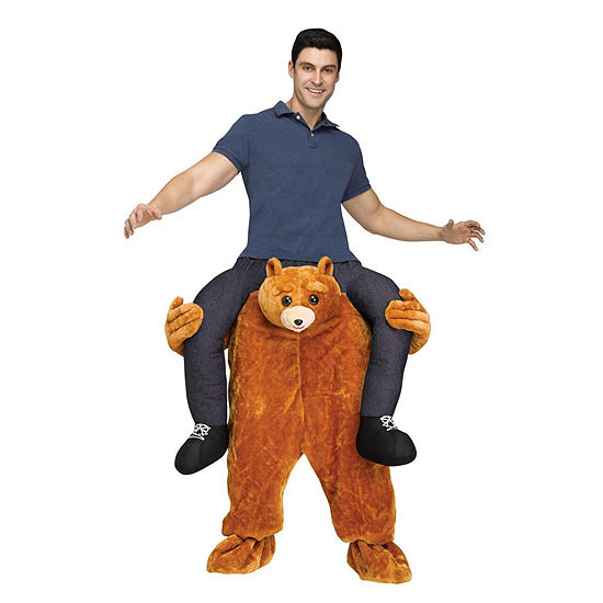 Ride A Bear Adult Costume Dress Up Costume Unisex