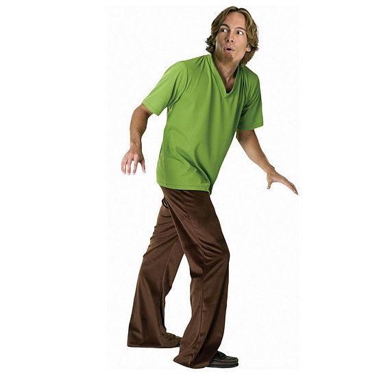 Scooby-Doo Shaggy Adult Dress Up Costume Mens 4-pc. Dress Up Costume Mens