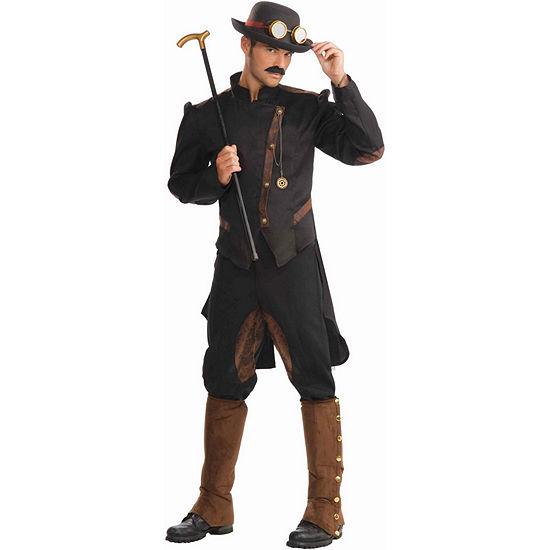 Steampunk Gentleman Adult Costume - One Size FitsMost