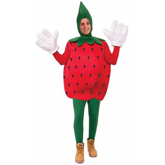 Strawberry Adult Costume 2-pc. Dress Up Costume Unisex