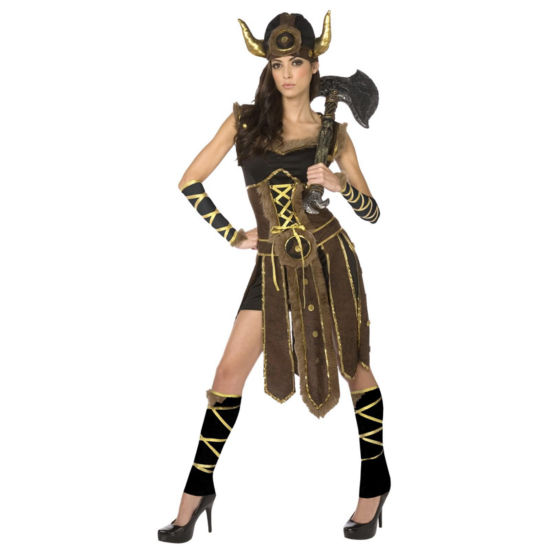 Buyseasons Viking 6-pc. Dress Up Costume Womens