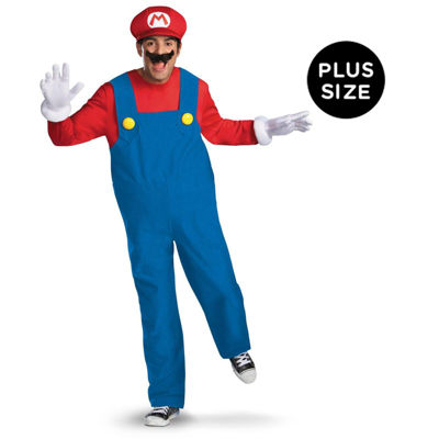 Super Mario Bros - Mario Plus Size Costume