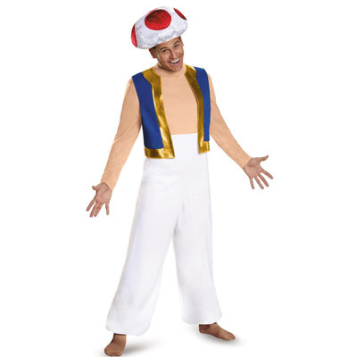 Super Mario: Deluxe Adult Toad Costume