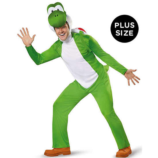 Super Mario:  Deluxe Adult Yoshi Costume