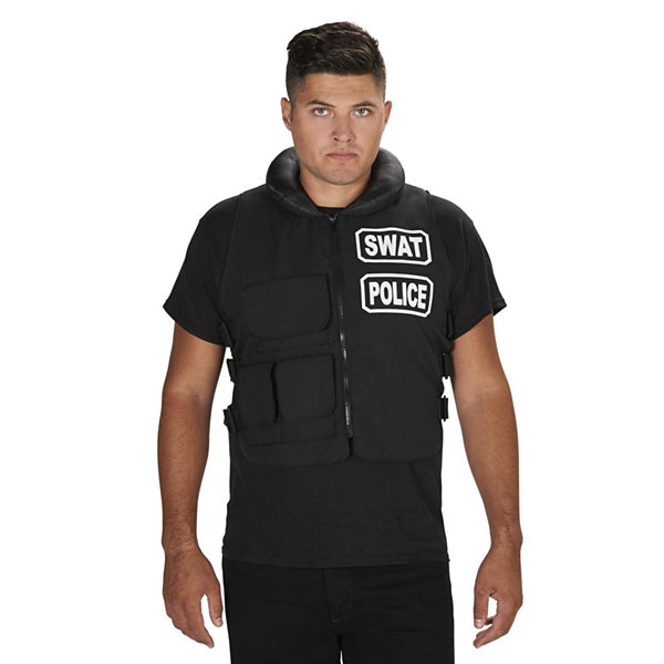 SWAT Team Vest Adult Costume - One-Size Fits Most