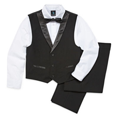 Steve Harvey 4-pc. Vest Set 8-20 Boys