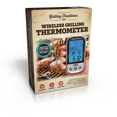 Grilling Traditions Wireless Grill Thermometer