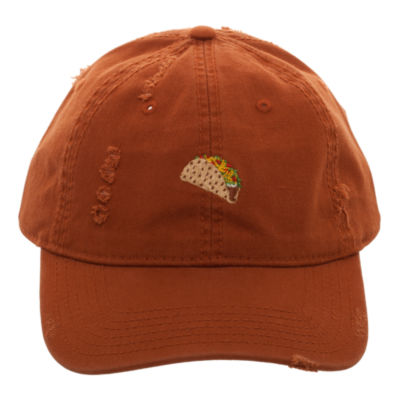 Let's Taco 'Bout It Distressed Dad Cap