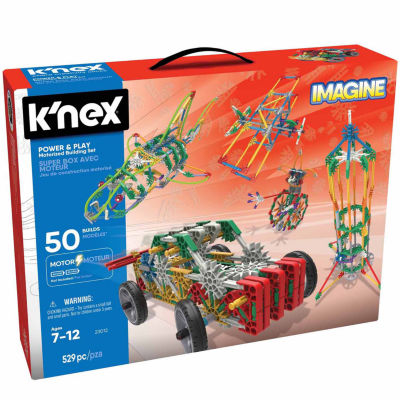 K`Nex - Imagine Power & Play Motorized Building Set