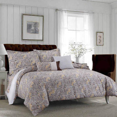 Tribeca Living Fiji 300tc 5-pc. Duvet Cover Set