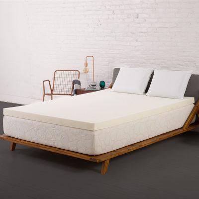 "Authentic Comfort® Biofresh® 2"" Memory Foam Mattress Topper"
