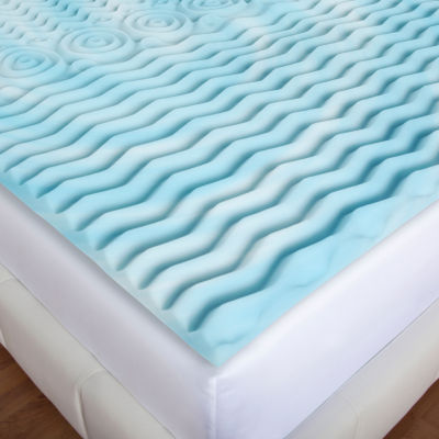 "Authentic Comfort 2"" Orthopedic Foam Mattress Topper"