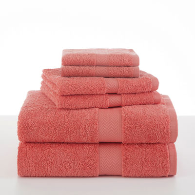 Martex Ringspun Cotton 6-Pc Towel Set
