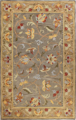 Priory 100% Wool Hand Tufted Area Rug