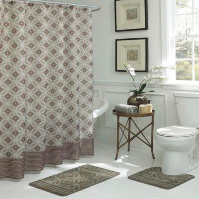 Hartford 15pc Set Shower Curtain Set