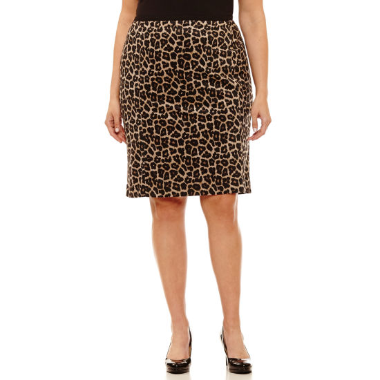 Liz Claiborne Pencil Skirt-Plus