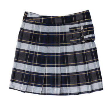 French Toast Plaid Two-Tab Scooter - Preschool Girls