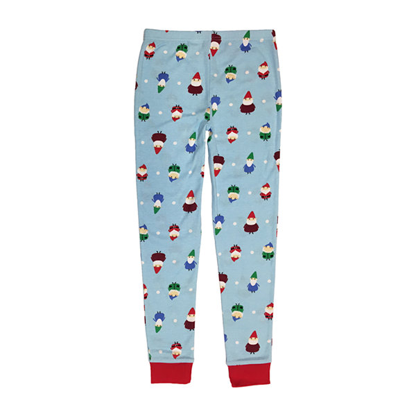 Secret Santa Gnomes Family Unisex 2-pc. Pant Pajama Set Preschool / Big Kid
