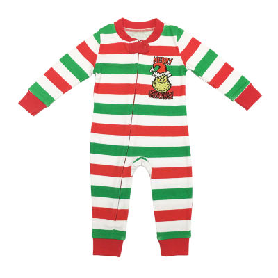 Dr. Seuss Grinch Family 1 Piece Pajama - Unisex Baby