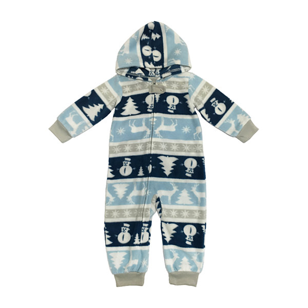 Secret Santa Chill Out 1 Piece Pajama - Unisex Baby