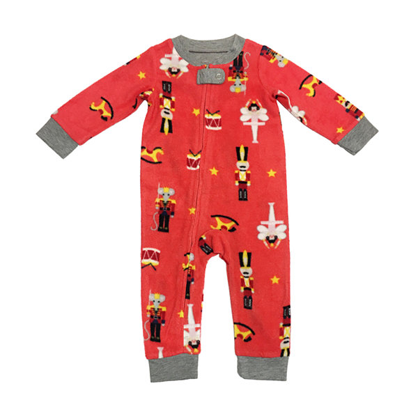 Secret Santa The Nutcracker Family 1 Piece Pajama - Unisex Baby