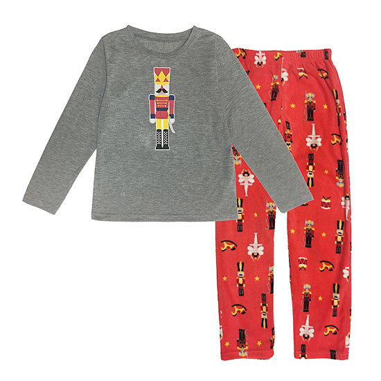 Secret Santa The Nutcracker Family Boys 2-pc. Pant Pajama Set Preschool / Big Kid