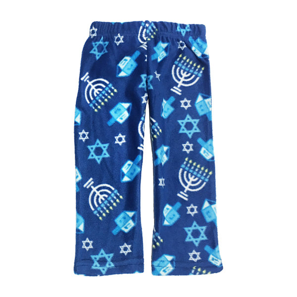 Hanukkah Family Unisex 2-pc. Pant Pajama Set Toddler