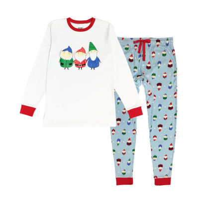 Secret Santa Gnomes Family 2 Piece Pajama Set -Men's