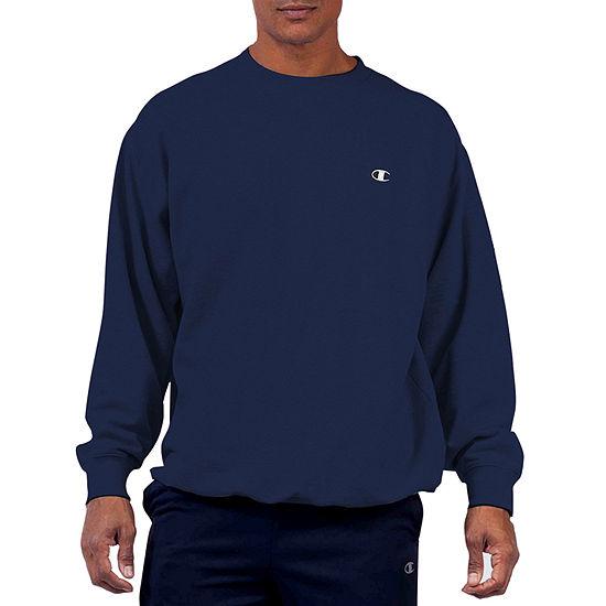 Champion Big and Tall Mens Crew Neck Long Sleeve Sweatshirt