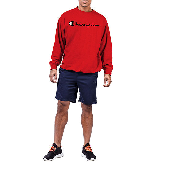 Champion Mens Crew Neck Long Sleeve Sweatshirt Big and Tall