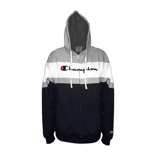 Champion-Big and Tall Mens Long Sleeve Hooded Hoodie